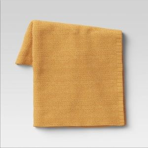 Threshold throw blanket